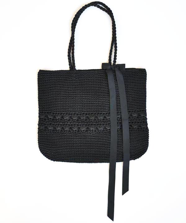 Crochet Tote<img class='new_mark_img2' src='https://img.shop-pro.jp/img/new/icons1.gif' style='border:none;display:inline;margin:0px;padding:0px;width:auto;' />