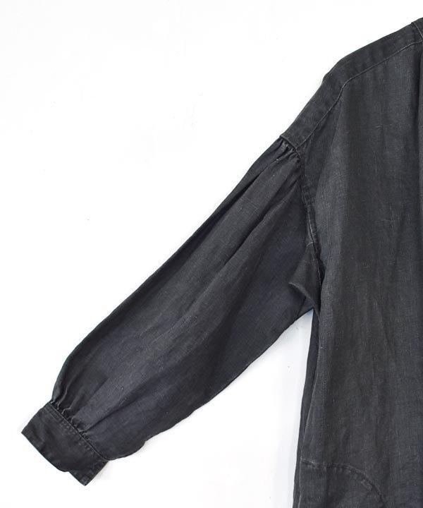 Dry Wallワークワンピースコート(チャコール)