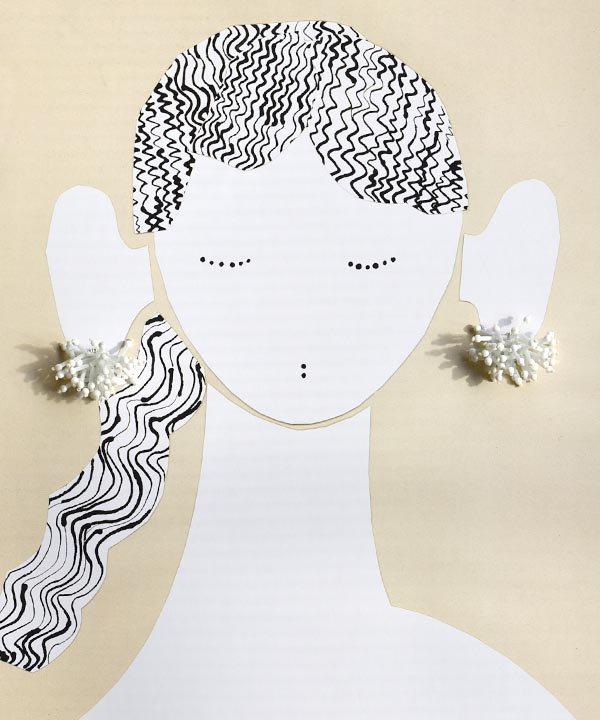 Joy short(white) / pierce・earring<img class='new_mark_img2' src='https://img.shop-pro.jp/img/new/icons1.gif' style='border:none;display:inline;margin:0px;padding:0px;width:auto;' />