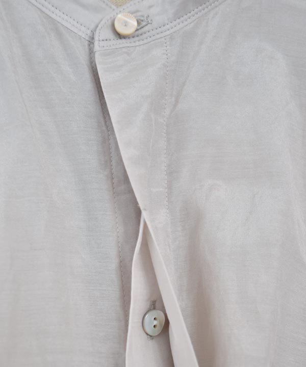 balloon-sleeve blouse(ice gray)<img class='new_mark_img2' src='https://img.shop-pro.jp/img/new/icons1.gif' style='border:none;display:inline;margin:0px;padding:0px;width:auto;' />