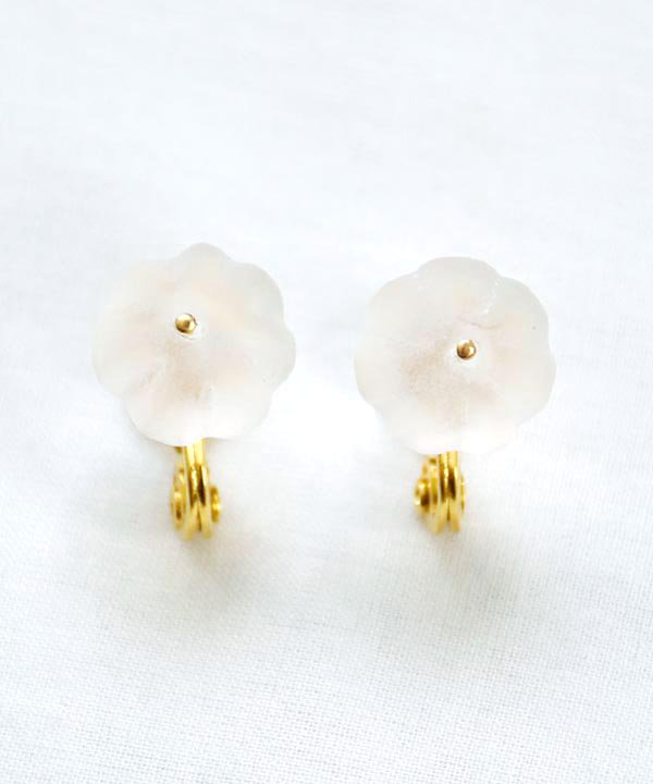 'Translucide'  earring(clear) <img class='new_mark_img2' src='https://img.shop-pro.jp/img/new/icons1.gif' style='border:none;display:inline;margin:0px;padding:0px;width:auto;' />