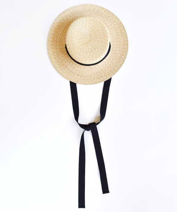 5mm braid straw hat short