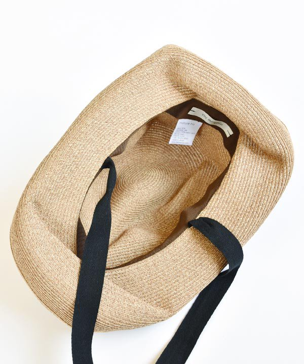BOXED HAT by mature ha. / BOXED HAT 11cm brim garden ribbon <img class='new_mark_img2' src='https://img.shop-pro.jp/img/new/icons52.gif' style='border:none;display:inline;margin:0px;padding:0px;width:auto;' />
