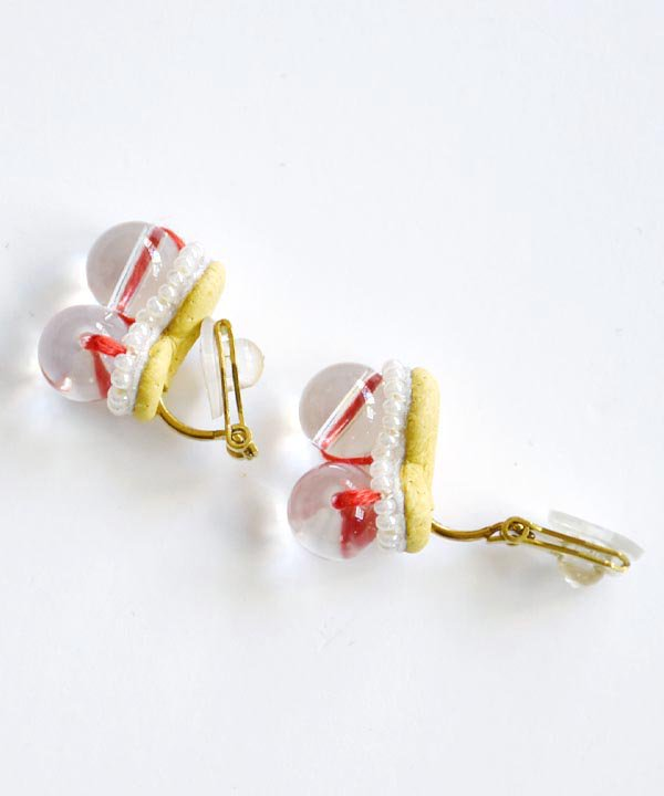 Sanae(Red) / pierce・earring<img class='new_mark_img2' src='https://img.shop-pro.jp/img/new/icons52.gif' style='border:none;display:inline;margin:0px;padding:0px;width:auto;' />