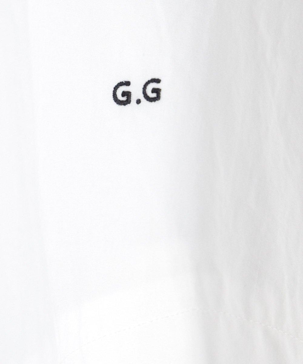 "gasa*grue / ""ピンクのカーテンの部屋"" スタンドワンピース(オフホワイト) <img class='new_mark_img2' src='https://img.shop-pro.jp/img/new/icons1.gif' style='border:none;display:inline;margin:0px;padding:0px;width:auto;' />"