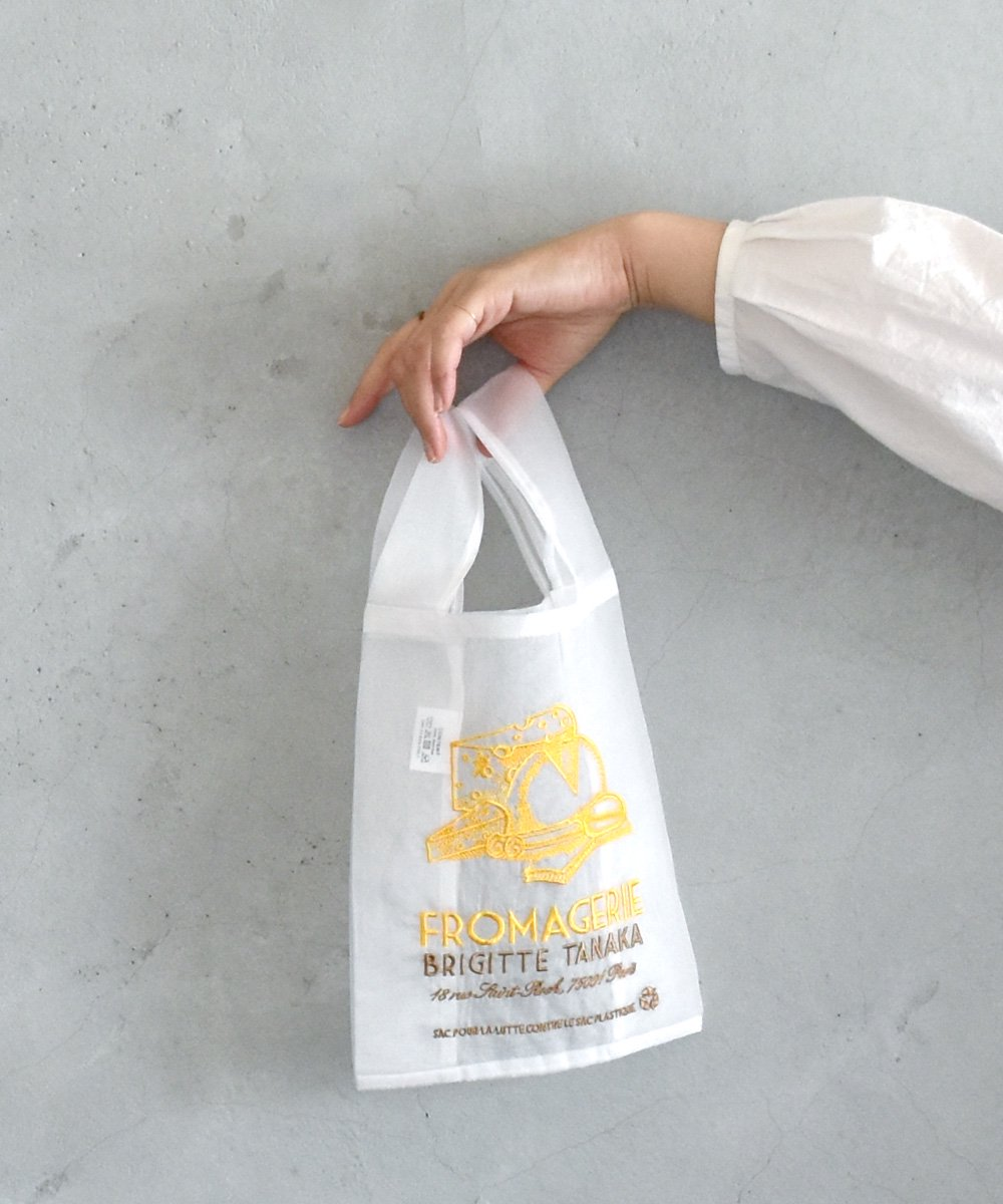 BRIGITTE TANAKA / Sac Organza S(fromage)<img class='new_mark_img2' src='https://img.shop-pro.jp/img/new/icons1.gif' style='border:none;display:inline;margin:0px;padding:0px;width:auto;' />