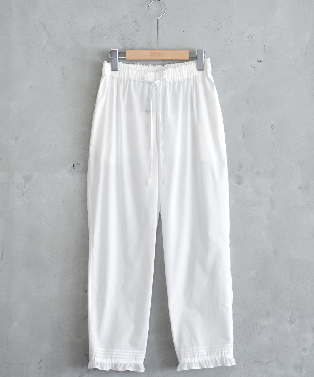 Relax Pants(White)<img class='new_mark_img2' src='https://img.shop-pro.jp/img/new/icons1.gif' style='border:none;display:inline;margin:0px;padding:0px;width:auto;' />