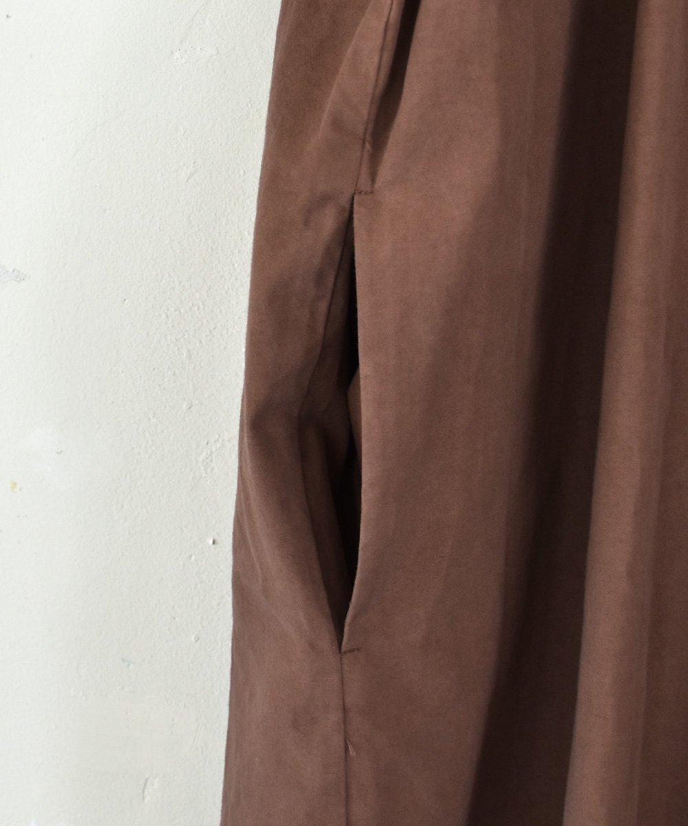 ikkuna/suzuki takayuki  /  kurta dress(walnut)<img class='new_mark_img2' src='https://img.shop-pro.jp/img/new/icons1.gif' style='border:none;display:inline;margin:0px;padding:0px;width:auto;' />