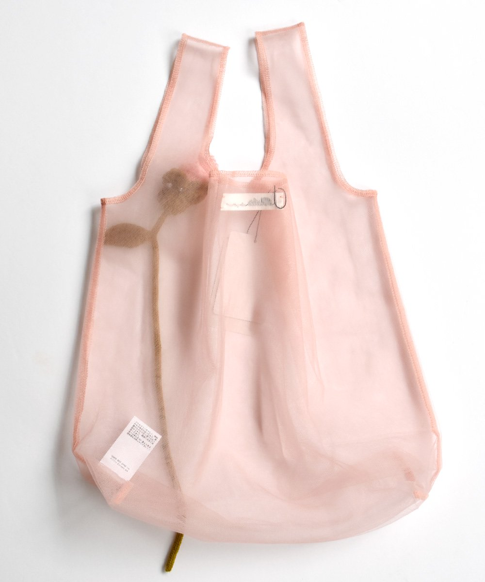 Corsage+Tulle Bag(Pink)