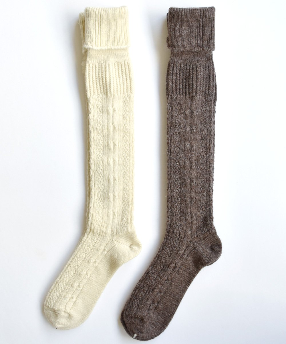 WOOL ALPACA CABLE HS<img class='new_mark_img2' src='https://img.shop-pro.jp/img/new/icons1.gif' style='border:none;display:inline;margin:0px;padding:0px;width:auto;' />