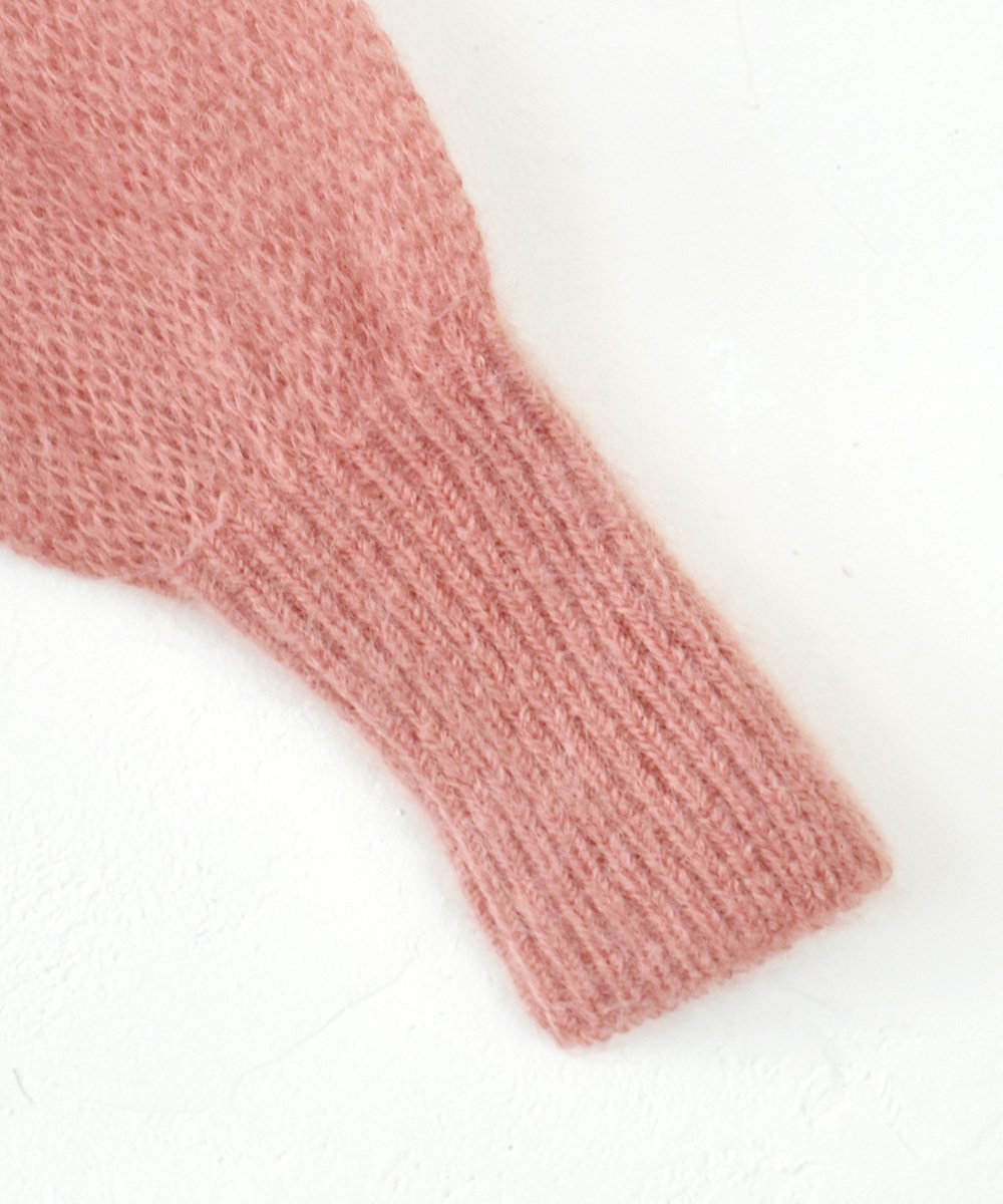 WANDERUNG / Kid Mohair Knit Pullover(ライトピンク)<img class='new_mark_img2' src='https://img.shop-pro.jp/img/new/icons1.gif' style='border:none;display:inline;margin:0px;padding:0px;width:auto;' />