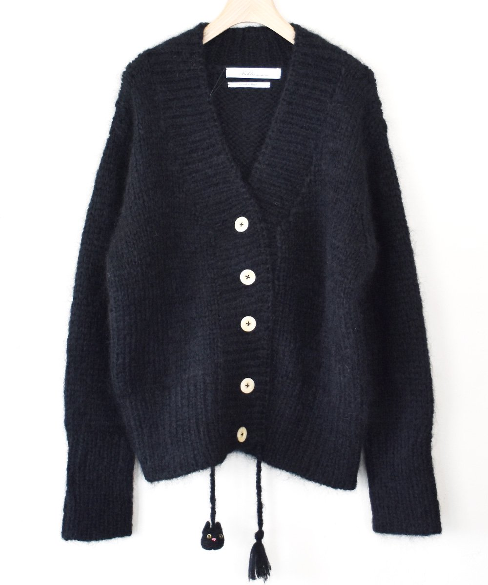 Mohair Cardigan(ブラック)<img class='new_mark_img2' src='https://img.shop-pro.jp/img/new/icons1.gif' style='border:none;display:inline;margin:0px;padding:0px;width:auto;' />