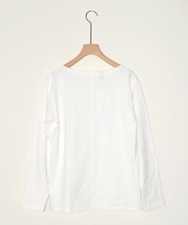 【SALE:30%off】13 RCH BOAT NECK LONG SLEEVE(white)<img class='new_mark_img2' src='//img.shop-pro.jp/img/new/icons16.gif' style='border:none;display:inline;margin:0px;padding:0px;width:auto;' />
