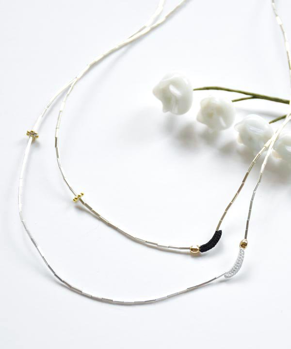'DENTELLE' NECKLACE<img class='new_mark_img2' src='//img.shop-pro.jp/img/new/icons52.gif' style='border:none;display:inline;margin:0px;padding:0px;width:auto;' />