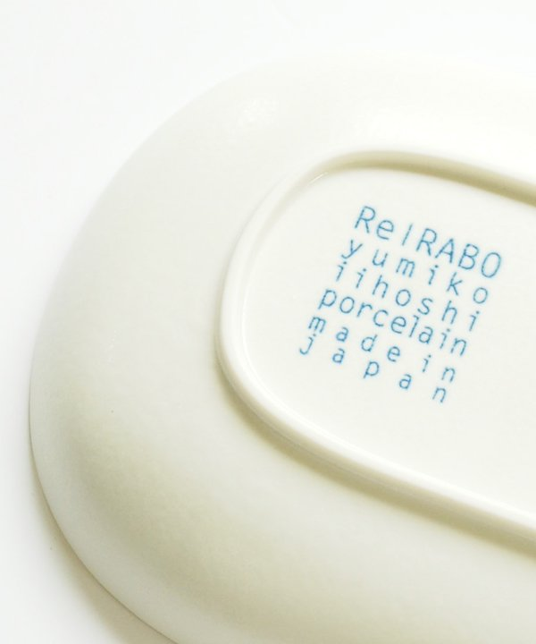 ReIRABO / Oval plate M(Quiet White)<img class='new_mark_img2' src='//img.shop-pro.jp/img/new/icons52.gif' style='border:none;display:inline;margin:0px;padding:0px;width:auto;' />