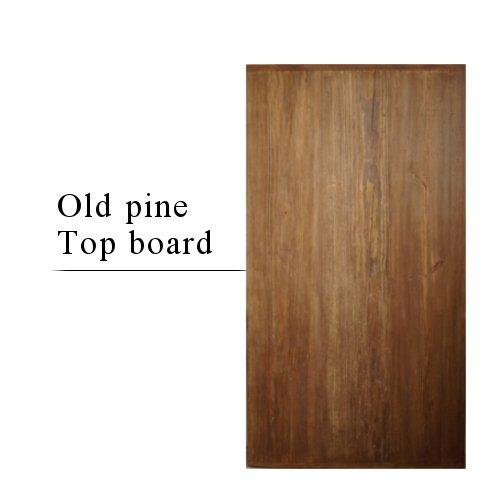Old pine wood Top board