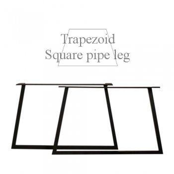 台形Iron  Leg ローテーブルタイプ