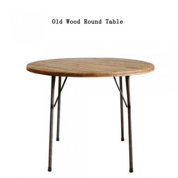 古材Roundテーブル