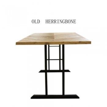 OLD  HERRINGBONE 2本脚テーブル
