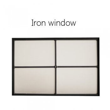 Iron window 室内窓