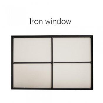 Iron window 室内窓