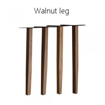 Walnut leg