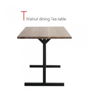 T Walnut ダイニングテーブル