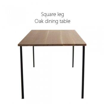 oak テーブルSquare leg