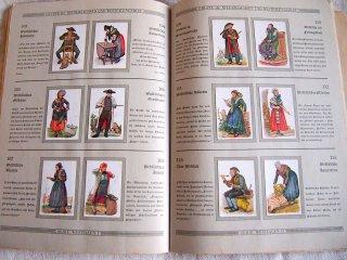 1931年 ドイツの民族衣装の解説書 カラーイラスト版