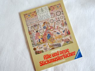 『Alte und neue Stickmustertucher』ドイツ語版 新旧の刺繍サンプラーの本<img class='new_mark_img2' src='//img.shop-pro.jp/img/new/icons8.gif' style='border:none;display:inline;margin:0px;padding:0px;width:auto;' />