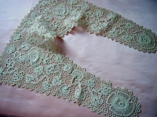 1900年代 アイリッシュ・クロッシェ カラー(替え襟)アイルランド製