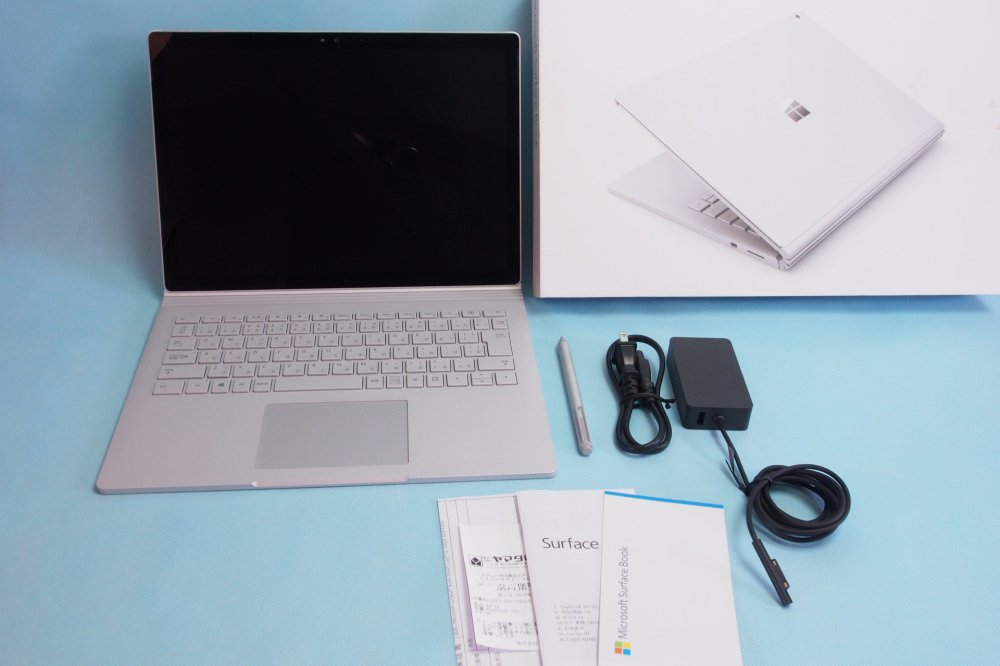 超美品|Microsoft Surface book 13.5型ノートPC Win10 i5 128GB 8GB CR9-00006