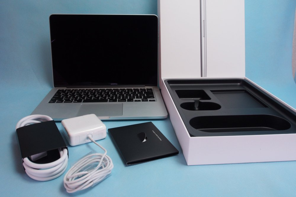 超美品|APPLE MacBook Pro Retina 2.7GHz Core i5 13.3インチ 8GB 128GB MF839J/A Ealy 2015 充放電回数8…