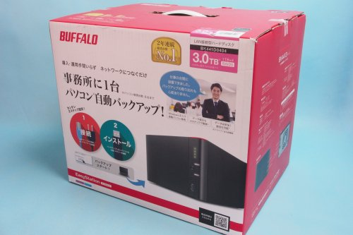 未開封|BUFFALO バックアップ専用HDD EasyStation for Backup 4TB BK441D0404