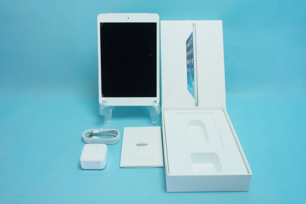 超美品|Softbank Apple iPad mini Retina Wi-Fi Cellular 16GB シルバー ME814J/A
