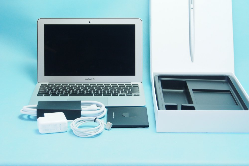 超美品|APPLE MacBook Air 1.6GHz Dual Core i5 / 11.6インチ / 4GB /SSD 128GB / Early 2015