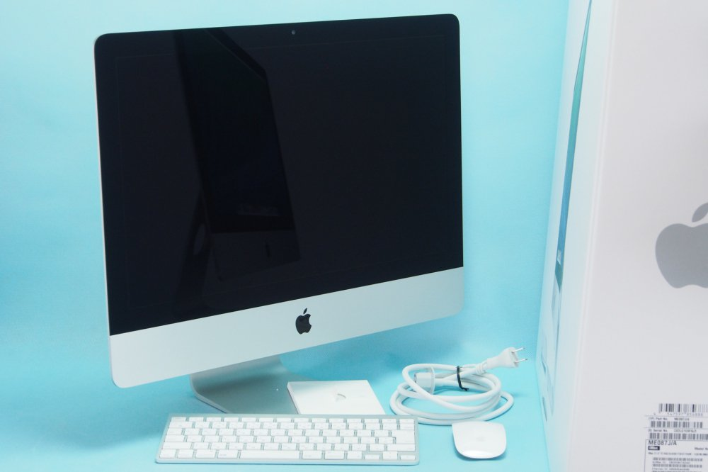超美品|APPLE iMac 21.5/2.9GHz Quad Core i5/8GB/1TB/NVIDIAGeForceGT750M ME087J/A Late 2013