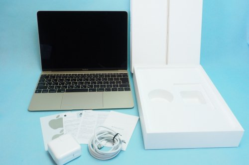 新品同様|Apple/MacBook/12inch/Retina/1.4GHz/i7/16GB/SSD512GB /graphics 615 1536/2017年製/充放電回数7回
