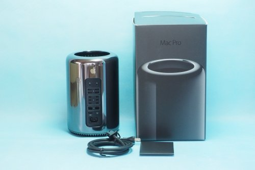 超美品|Apple/Mac Pro/3.7GHz xeon E5/メモリ 12GB/SSD 512GB/Late 2013