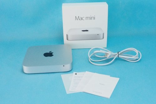 超美品|Apple Mac mini 2.6GHz Core i5/8GB/SSD 512GB/Late 2014