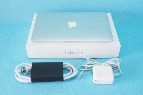 美品|APPLE MacBook Air  1.6GHz Core i5 11インチ 4GB 256GB MJVP2J/A Early 2015 充電回数28回