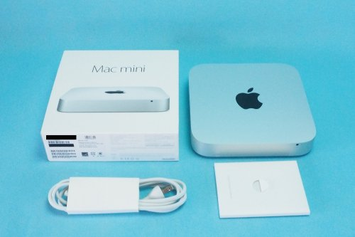 超美品| APPLE Mac mini  2.8GHz Dual Core i5/8GB/1TB Fusion/Intel Iris  MGEQ2J/A  Late 2014
