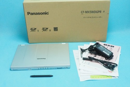 超美品|Panasonic Let's note CF-MX5WDGPR タブレット ノート PC 12.5型 i5 2.3GHz 8GB SSD128GB Win10 Home 64bit
