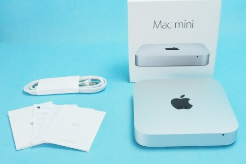 美品|APPLE Mac mini 1.4GHz  Core i5 4GB 500GB MGEM2J/A Late 2014