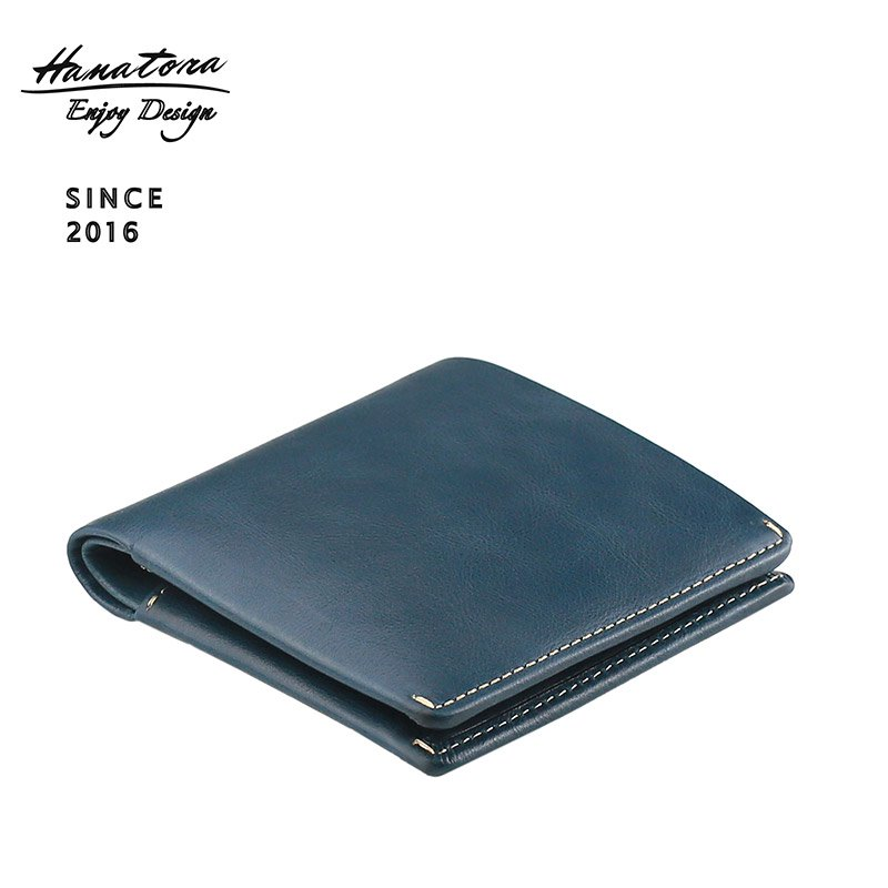 ベジタブルタンニンレザー二つ折り財布 slide