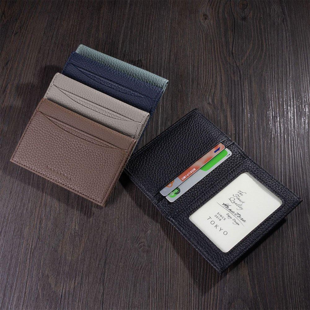 プレミアムカードケース 二つ折りスタイル Edel シュリンクカーフレザー