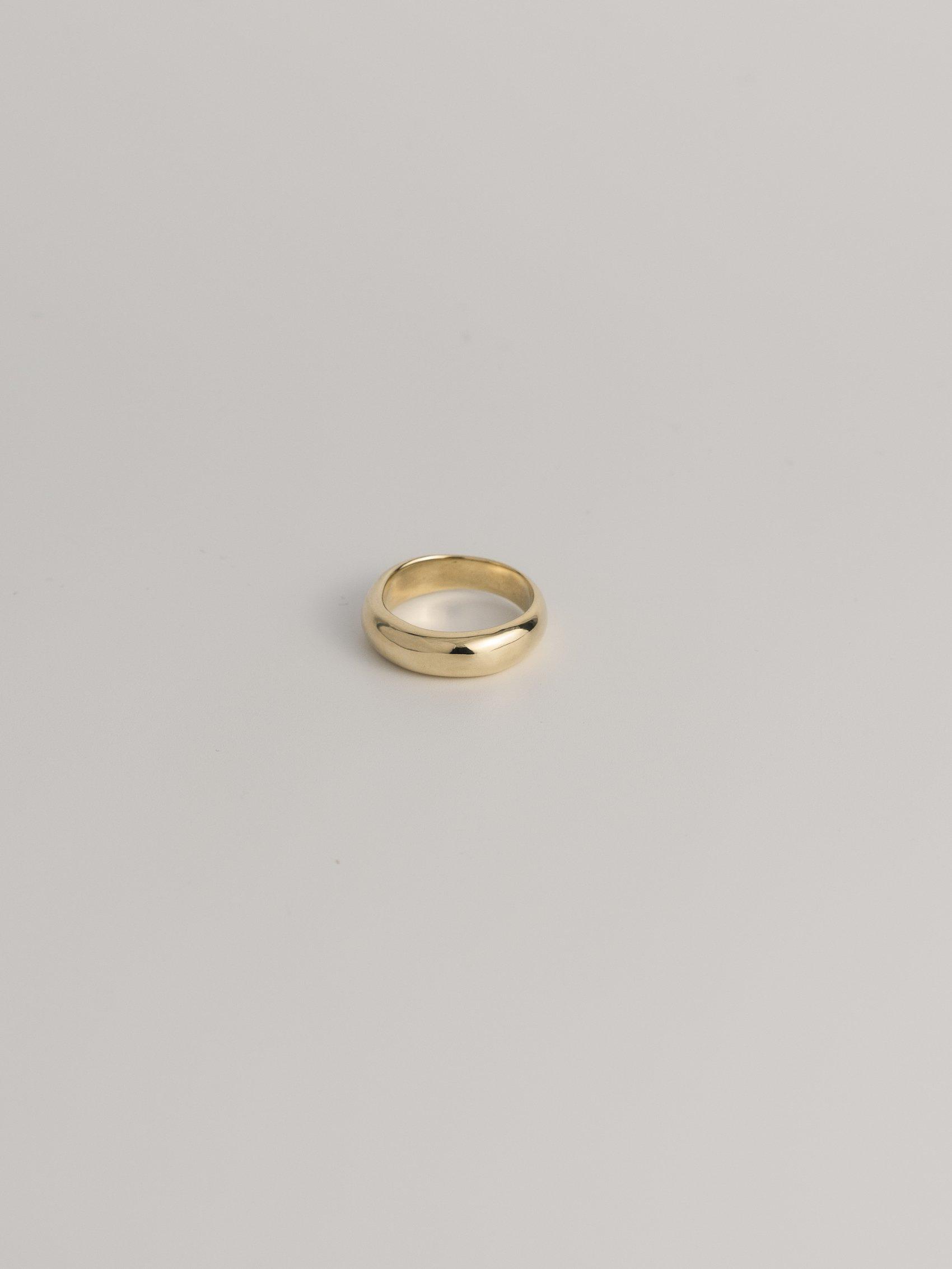 brass  simple ring