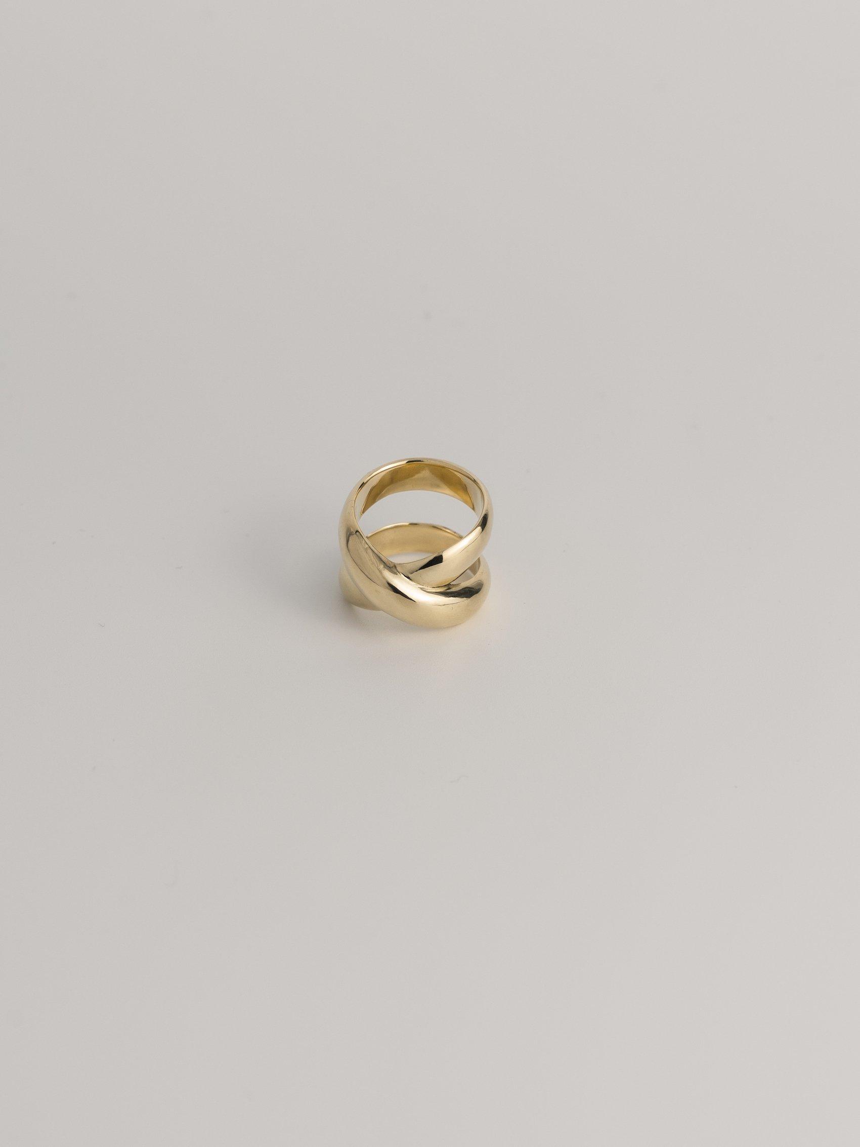 brass overlap ring