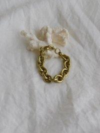 brass thick bracelet