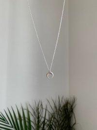 sv925 mini moon necklace